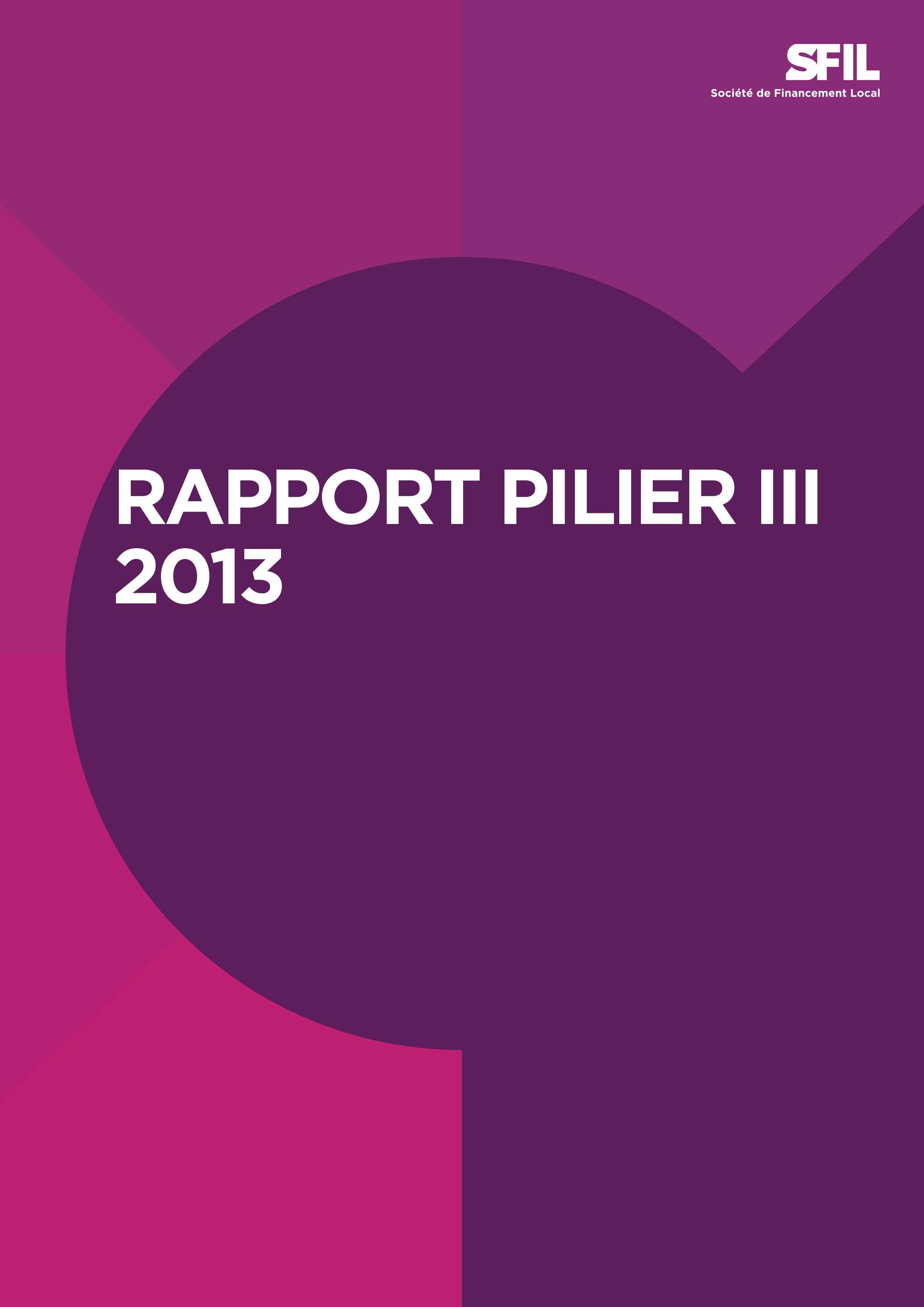 Sfil's Pillar 3 report