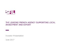 thumbnail of 20170619 SFIL Investor Presentation – inaugural USD benchmark