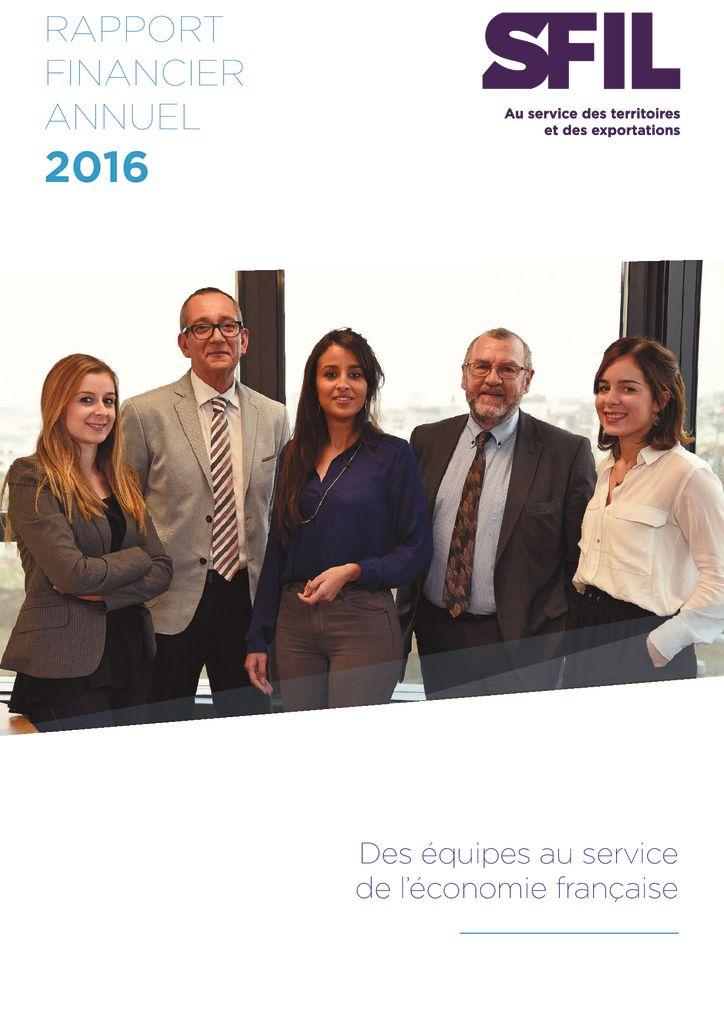 Rapport Financier Annuel 2016
