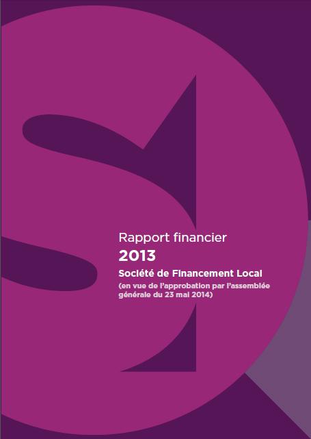 Communication financière – Publication du rapport financier 2013