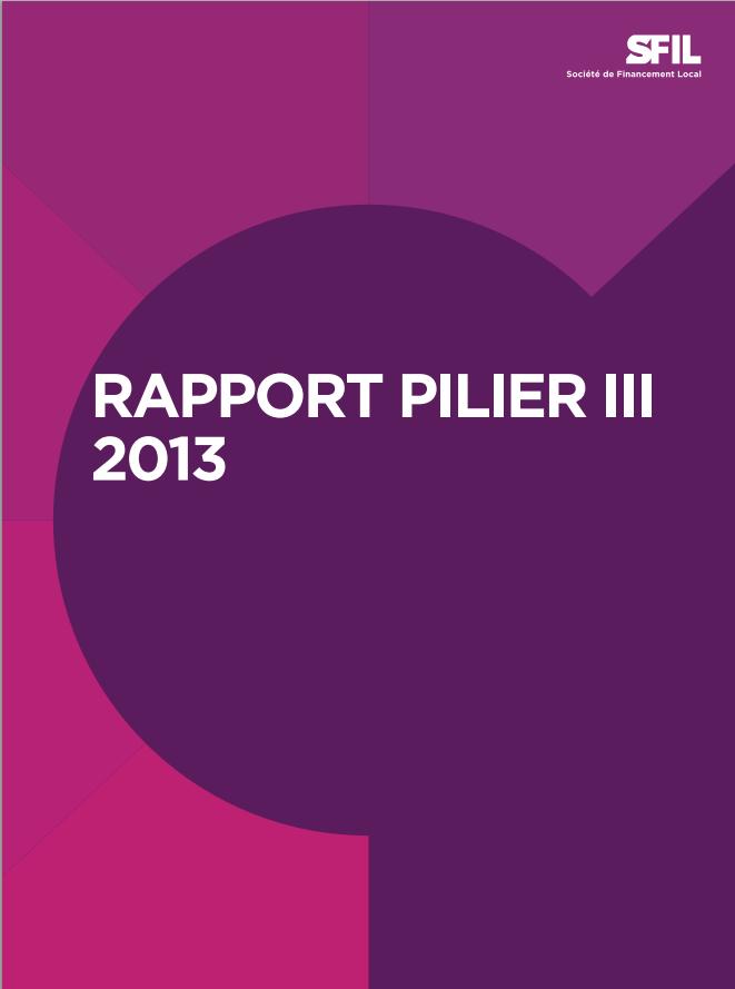 Rapport SFIL Pilier III