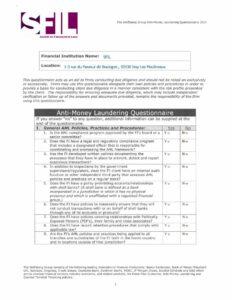thumbnail of 6. SFIL Wolfsberg questionnaire Mars 2017